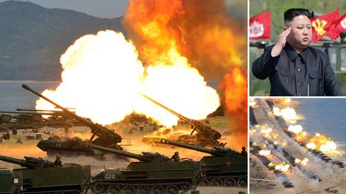 North Korea hails 'largest ever' firing drill amid high tensions