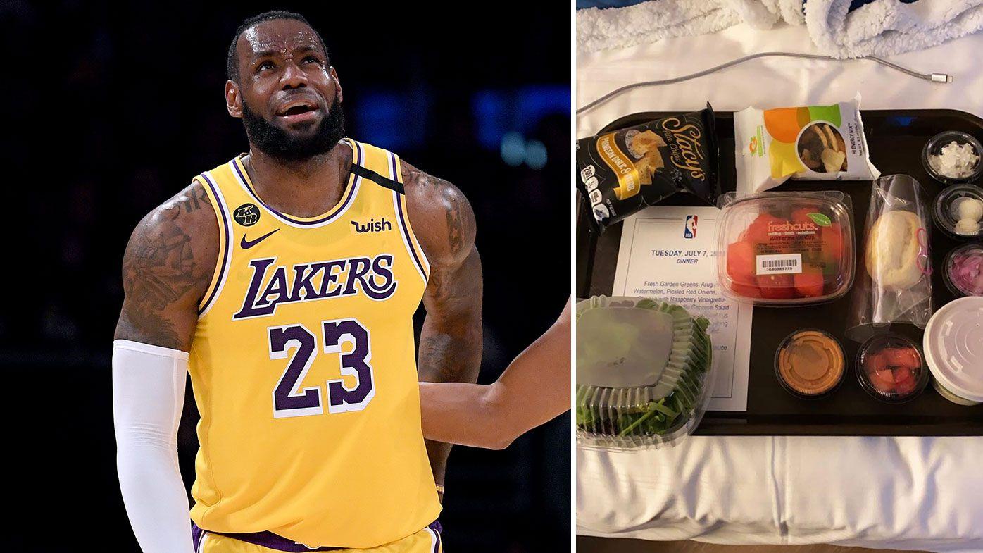 NBA stars savage Orlando bubble's hospitality