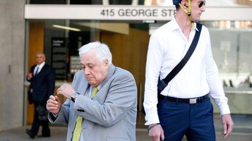 Palmer avoids skateboarder, talks to media