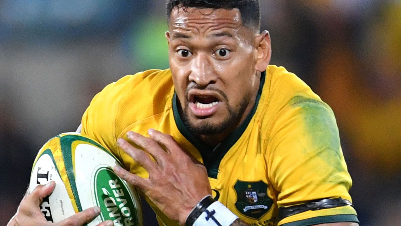 Israel Folau was finished with Rugby Australia after admitting offence, reports says