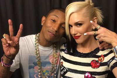 """It's the return of solo Stefani! <br/><br/>Pharrell convinced Gwen Stefani to record a solo follow-up to her 2006 album <I>The Sweet Escape</I> by playing her a new song - twinkly tune 'Spark the Fire'. <br/><br/>If hard-working Gwen has things her way, 2015 could be the year she releases her solo album <I>and</I> a new No Doubt project. """"At this point, I'm thinking about both!"""" she told <I>MTV News</I>. """"I can do both"""". <br/><br/>This s--- is bananas..."""