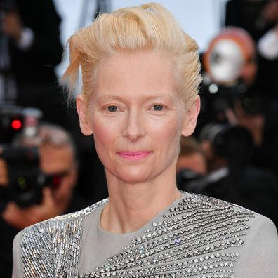 """Tilda Swinton attends the opening ceremony and screening of """"The Dead Don't Die"""" during the 72nd annual Cannes Film Festival on May 14, 2019 in Cannes, France."""