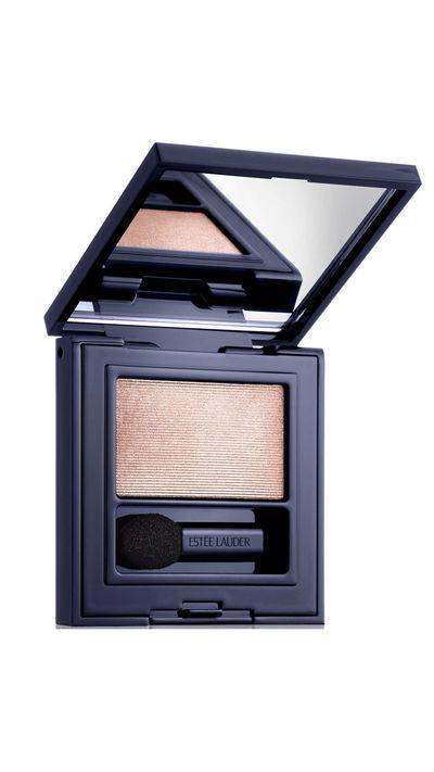 "<a href=""http://shop.davidjones.com.au/djs/ProductDisplay?catalogId=10051&productId=7299008&langId=-1&storeId=10051"" target=""_blank"">Pure Color Envy Defining Eyeshadow Wet/Dry in Pink Satin,$45, Estee Lauder.</a>"