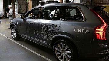 An Uber self-driving car. (AAP)
