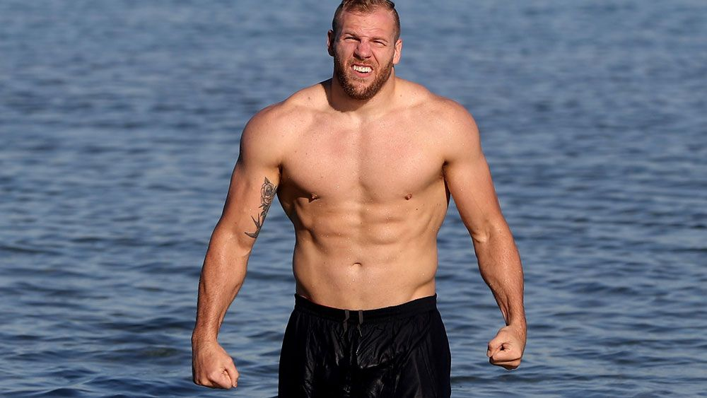 James Haskell. (Getty)
