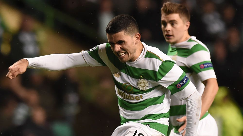 Socceroos' Tom Rogic scores screamer in Celtic rout over Ross County in Scottish Premier League