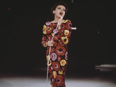 Judy Garland on stage in 1960