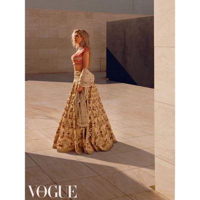 Kim Kardashian,&nbsp;<em>Vogue India</em>&nbsp;March 2018