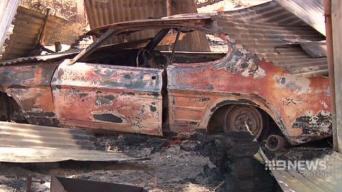 Cars, fences and livestock have been confirmed lost. (9NEWS)