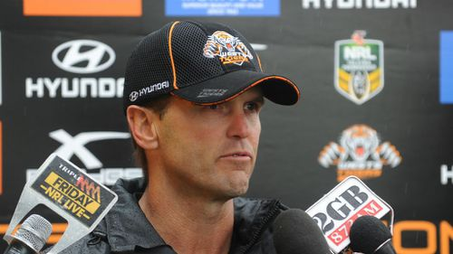 Wests Tigers coach Mick Potter ousted