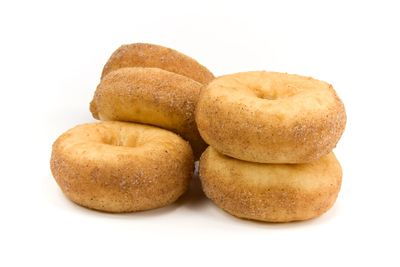 Cinnamon doughnut: 2 teaspoons of sugar