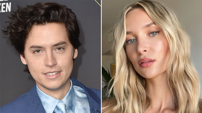 Cole Sprouse and rumoured girlfriend Ari Fournier.