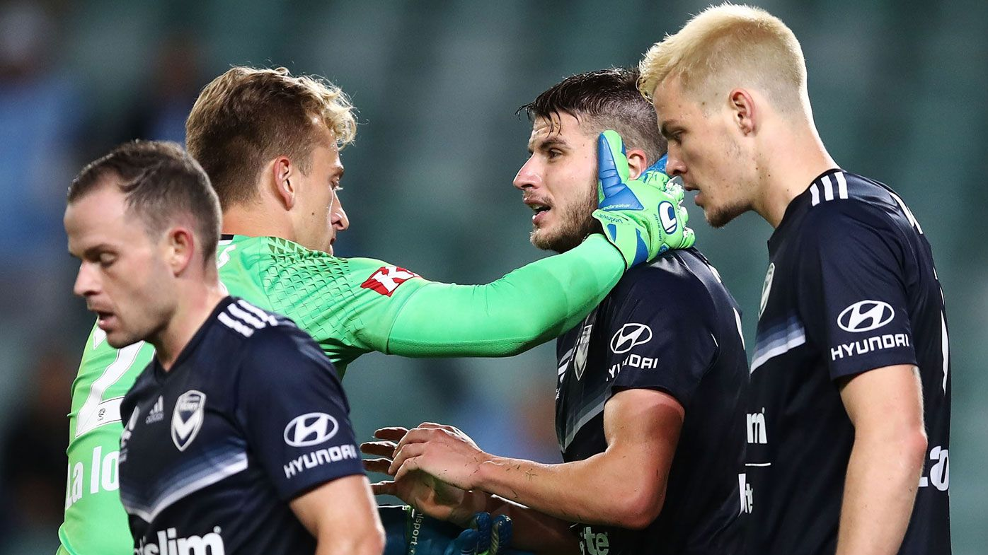 Melbourne Victory's Terry Antonis stuns Sydney FC in extra time to make grand final