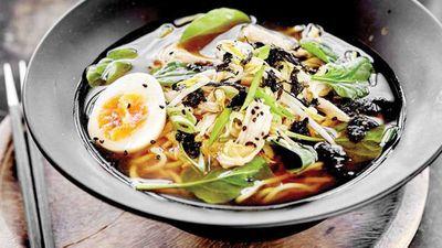 Chicken and yuzu ramen