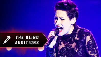 Blind Audition: Diana Rouvas 'Vision Of Love'