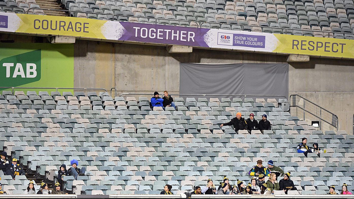 ACT Brumbies play to second worst home crowd at GIO Stadium