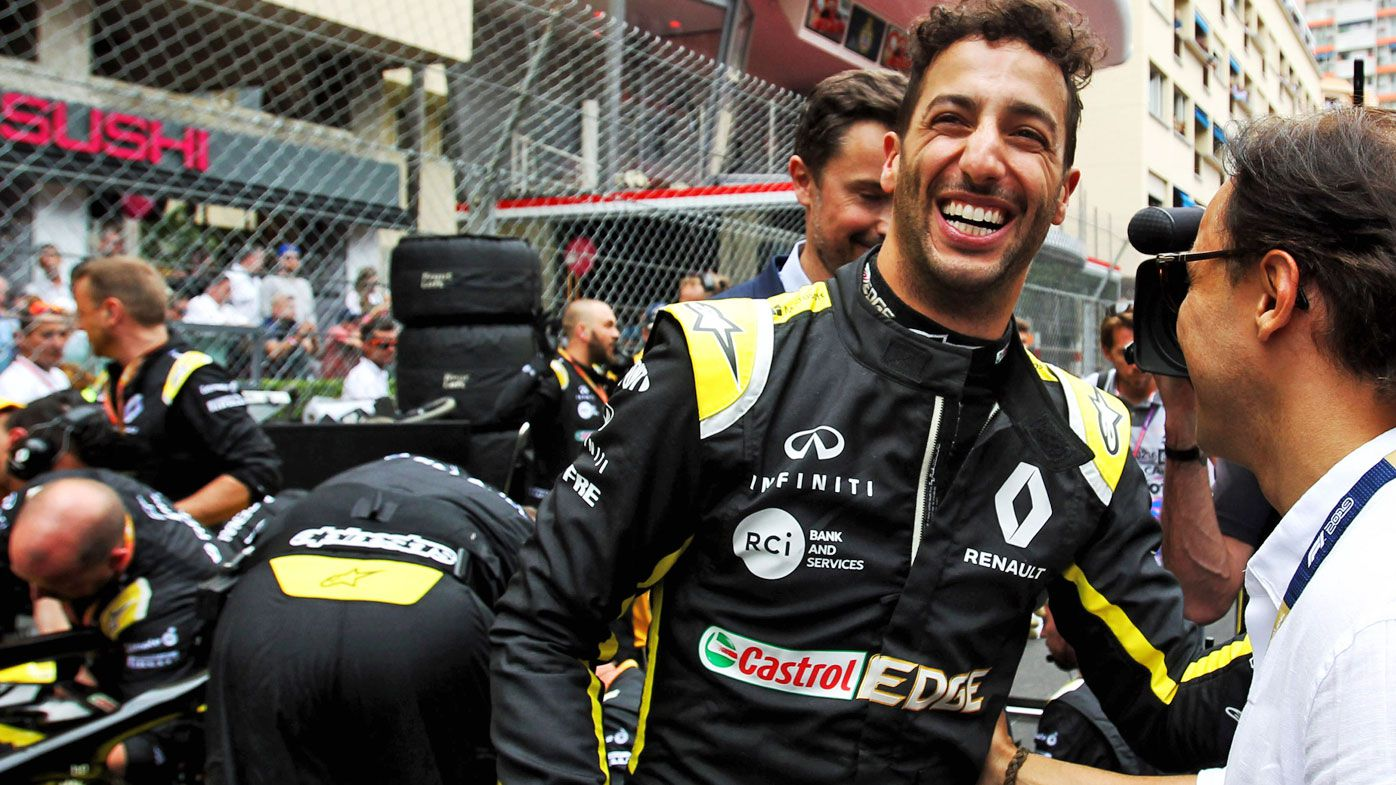 Daniel Ricciardo is upbeat about his Renault future