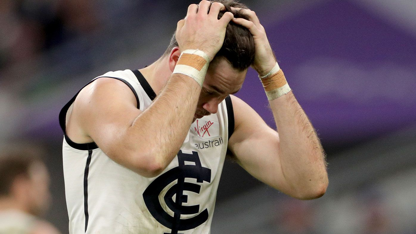 AFL: Mitch McGovern 'hurt' but determined after Carlton axing