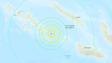 Earthquake Solomon Islands Friday 15 October.