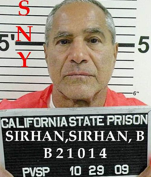 Conspiracy theorists have long argued Palestinian immigrant Sirhan B Sirhan was not responsible for Kennedy's death, instead blaming a 'second gunman'. (Supplied)