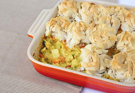 Annette Sym's fancy chicken curry