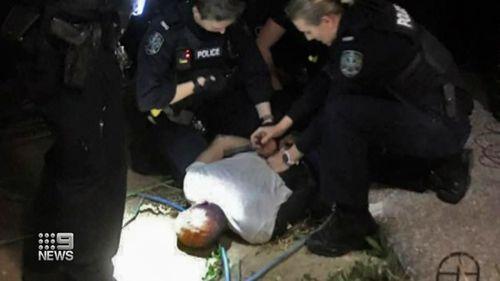 Richmond, Adelaide home invasion citizens arrest.