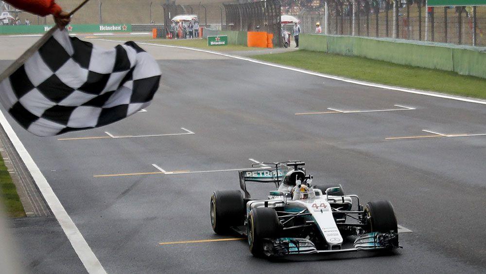 Mercedes Formula One driver Lewis Hamilton.