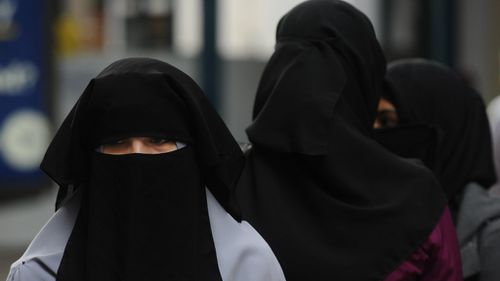 The debate over the burqa has divided Australia's political leaders. (AAP)