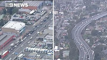 All aboard the Parra Road as drivers avoid M4 toll