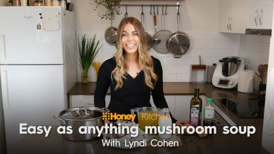 The Nude Nutritionist's best ever mushroom soup