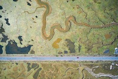'Road to ruin'. Winner - Wetlands: The bigger picture.