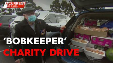 'BobKeeper' charity food drop helps families through lockdown