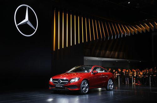 """Mercedes is one of the five systems tested in the Insurance Institute for Highway Safety paper titled """"Reality Check"""". Picture: AAP"""