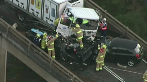 The crash occurred on the Woronara Bridge in 2015.