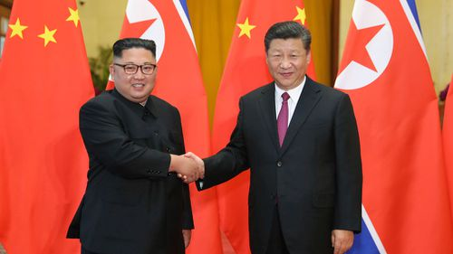 Mr Kim's first foray outside of North Korea as leader was for a summit with Mr Xi last March.