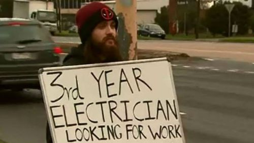 Melbourne man lands two job offers after taking resume to streets in a desperate bid to find work