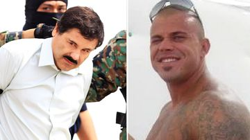 Mexican cocaine kingpin El Chapo; and Californian cocaine smuggler Owen Hanson.