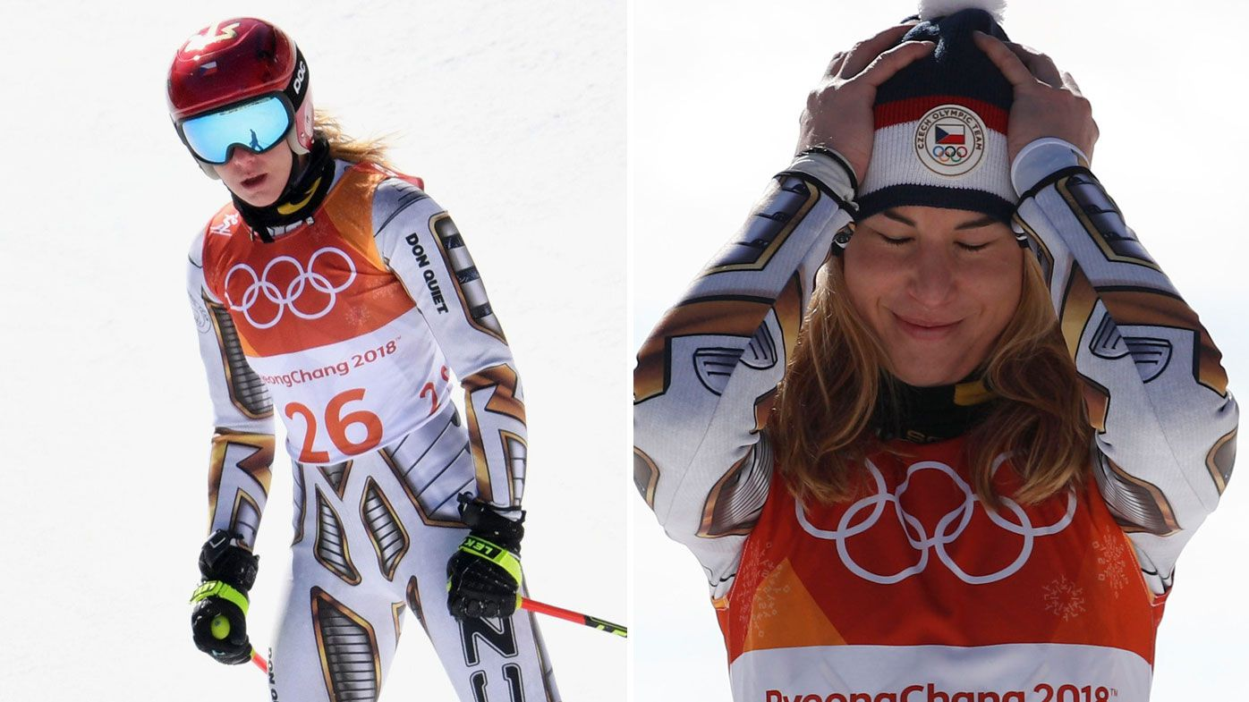 Czech Ledecka set for shock women's super-G gold