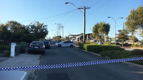 A man has died after he was found bleeding and unconscious on a train platform in Perth.