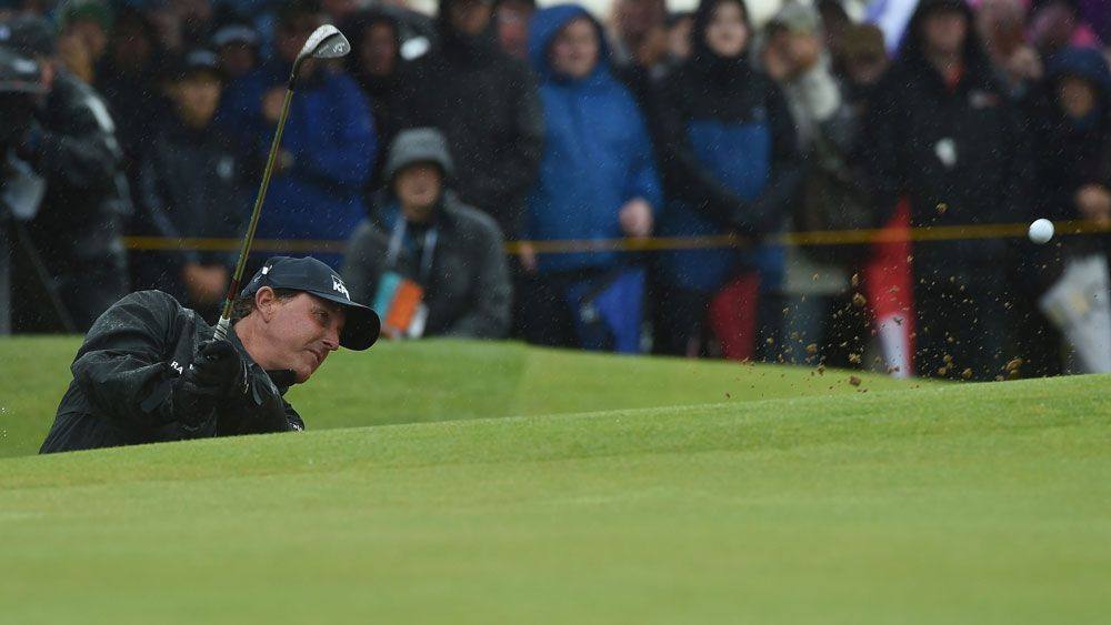 Mickelson in charge at British Open