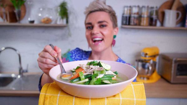 Jane de Graaff's easiest ever fall-off-the-bone chicken soup