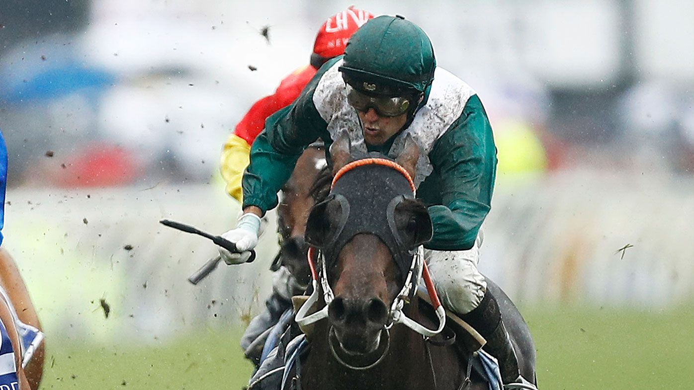 Exceedance chases down spring rival Bivouac to take out the Coolmore Stud Stakes