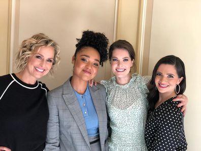 The Bold Type's leading ladies: Melora Hardin, Aisha Dee, Meghann Fahy and Katie Stevens