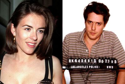 OK, so compared to Shane Warne and Steve Bing, Hugh Grant seems like an angel. And we all love him playing the blithering but adorable boyfriend in those romantic comedies. But let's forget he got busted cheating on poor Liz with prostitute Divine Brown!