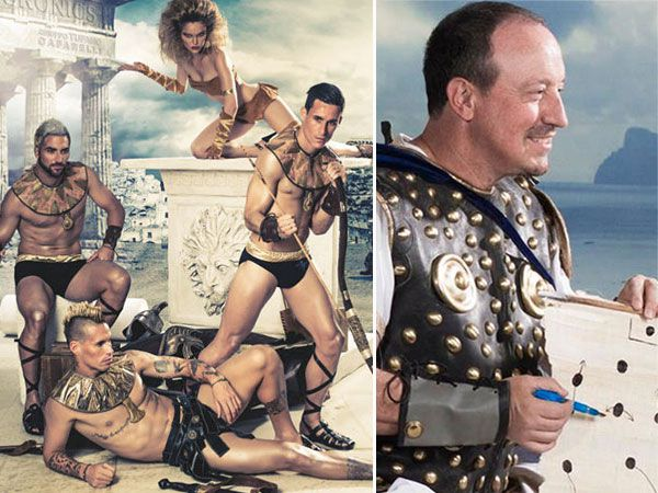Napoli's super weird 2015 club calendar