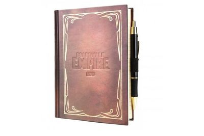 <i>Boardwalk Empire</i> journal…because gangsters need to be organised.<br/><br/>(Image: store.hbo.com)