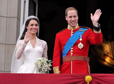 The wedding anniversary of the Duke and Duchess of Cambridge, April 29