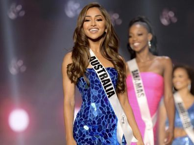 Maria Thattil in Miss Universe competition