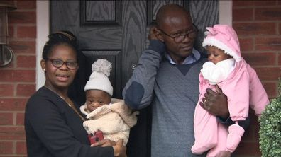 Woman shocked to learn she's birthed twins after being in an induced coma due to coronavirus