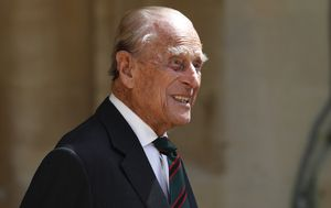Prince Philip makes rare public appearance as he passes ceremonial title to Camilla